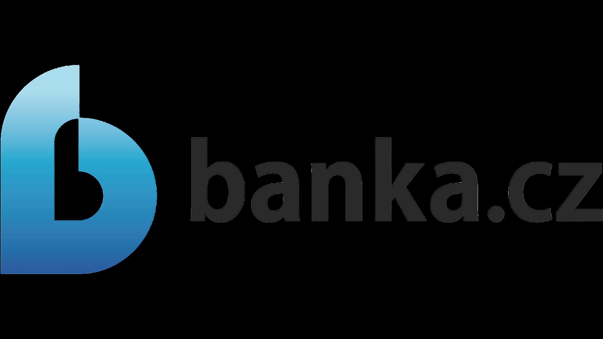 Logo Banka.cz - černá verze